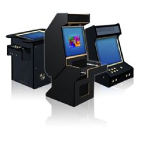 Cocktail Arcade game cabinet kit, Jamma and MAME Ready, LCD ...