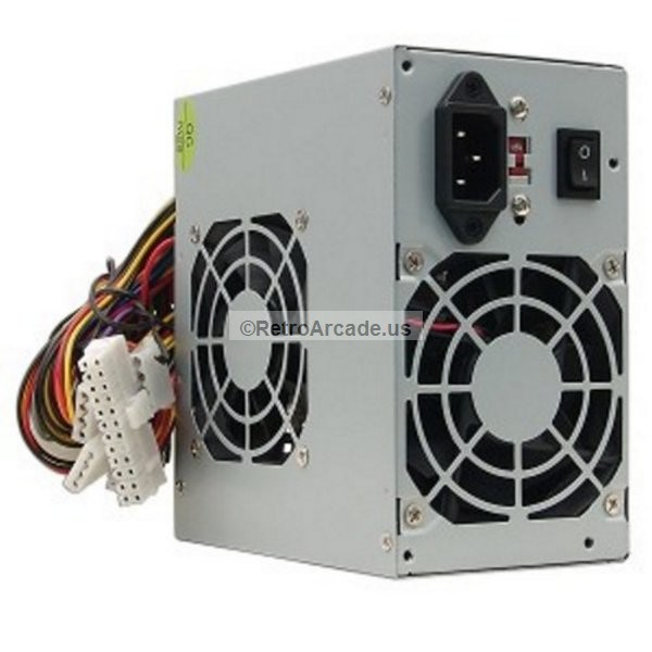 A-Power AGS 450W 20+4-pin Dual-Fan ATX Power Supply with SATA