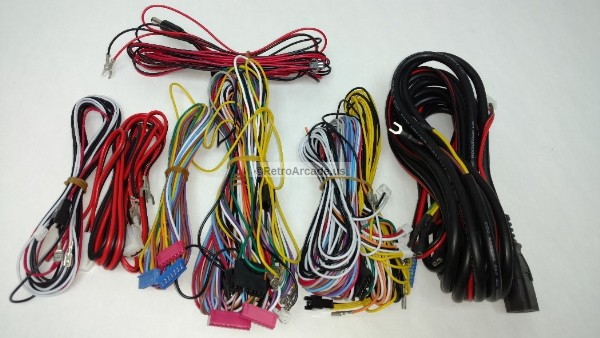 jamma 3 in 1 gun shooting game replacement wiring harness Cadillac Wire Harness at Lg 3 Wire Harness