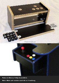 cocktail arcade game cabinet replacement controll panel. Black Bedroom Furniture Sets. Home Design Ideas