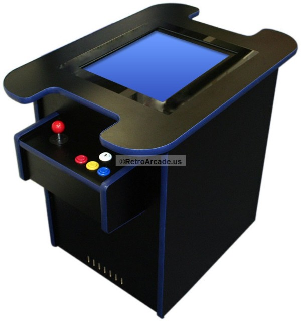 Cocktail Arcade game cabinet Ready to Assemble Cabinet Kit, Jamma ...