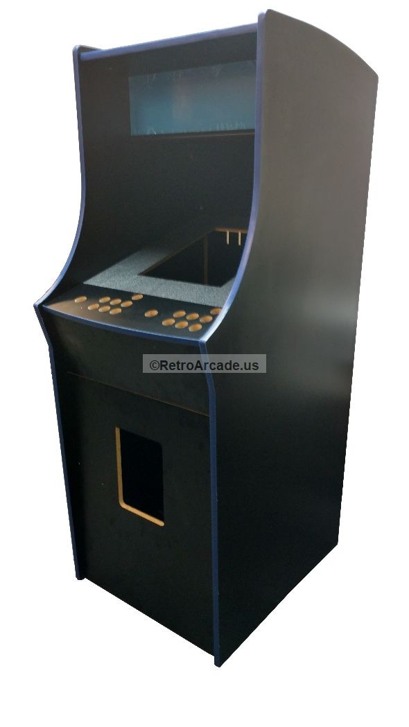 Cocktail Arcade game cabinet replacement controll panel kit pre-drilled complete