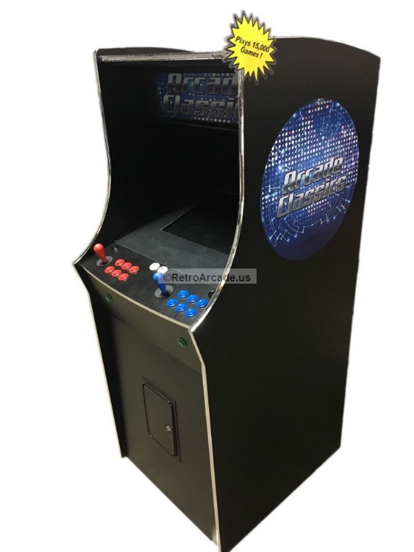 Arcade game cabinet Ready to Assemble Cabinet Kit, Jamma and MAME ...