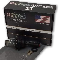 arcade joystick w top fire button for crane claw style. Black Bedroom Furniture Sets. Home Design Ideas