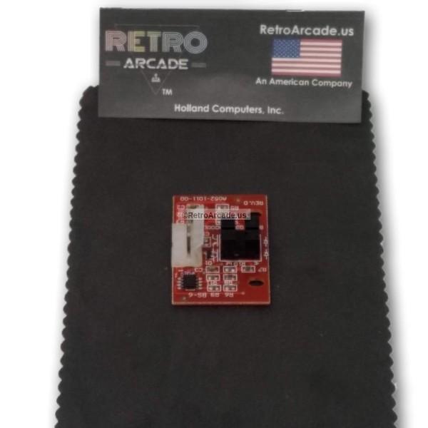 RetroArcade us 3 inch Track Ball, Arcade Game Trackball Replacement  movement Sensor, A052-1011-00