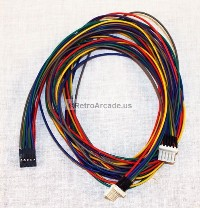 jamma trackball interface wiring harness for 2 inch trackball wiring harness