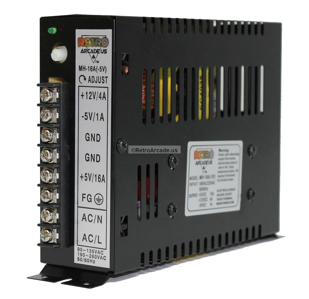 16a Arcade Switching Power Supply