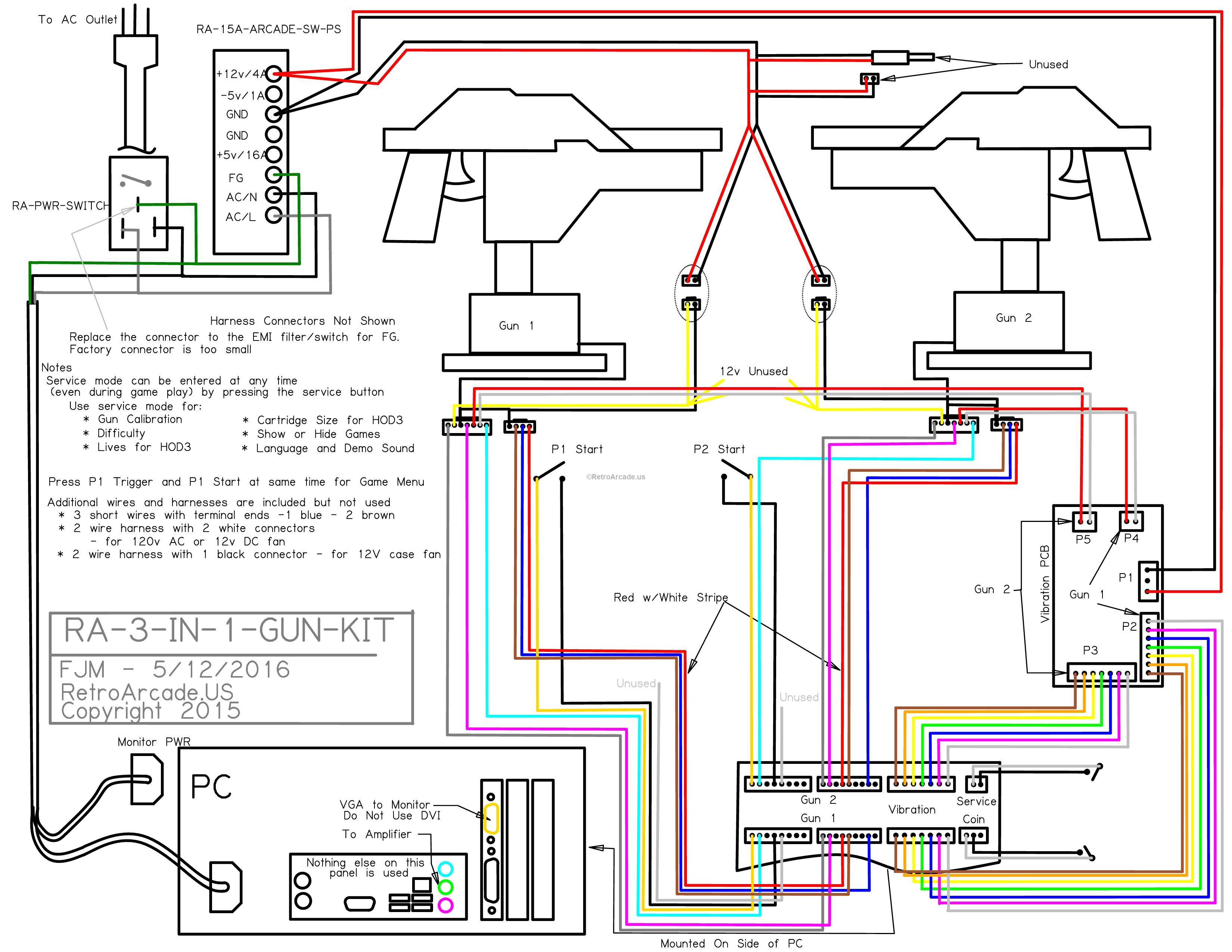 Point Blank Arcade Wiring Diagram - Enthusiast Wiring Diagrams •