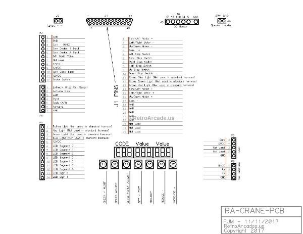 retroarcade us crane machine replacement cpu pcb main board for ra rh hollandcomputers com Portable Boom Cranes Crane Engineering Manual