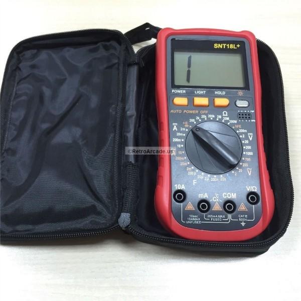 Senit Voltmeter Ohmmeter Ammeter Multimeter OHM DC AC Voltage Current Tester