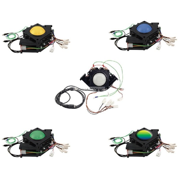 3 inch arcade game led trackball power supply with 2 pin. Black Bedroom Furniture Sets. Home Design Ideas