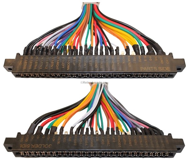 Excellent Jamma Plus Board Full Cabinet Wiring Harness Loom For Jamma Pcb Boards Wiring Database Gramgelartorg