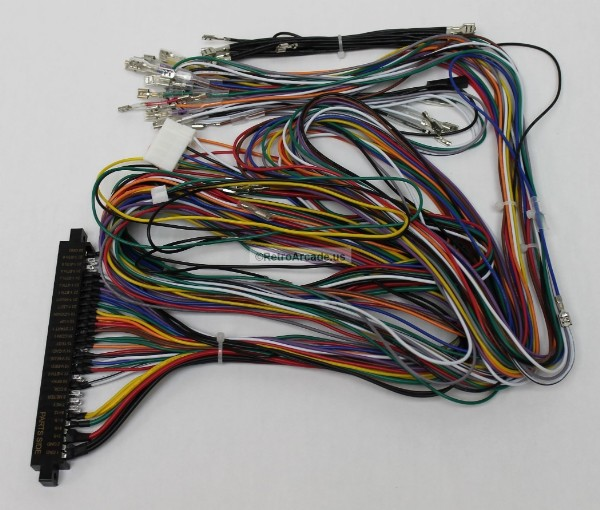 Jamma Board Standard Cabinet Wiring Harness Loom for Jamma 60-in-1 on