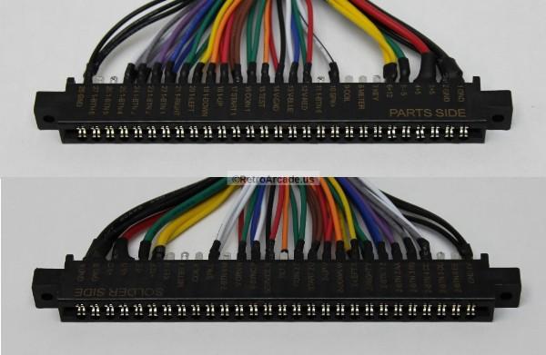 Jamma Board Standard Cabinet Wiring Harness Loom for Jamma 60-in-1 on